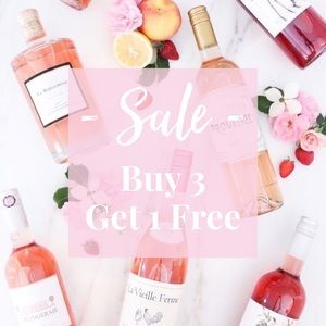 • Buy 3, Get 1 Free •